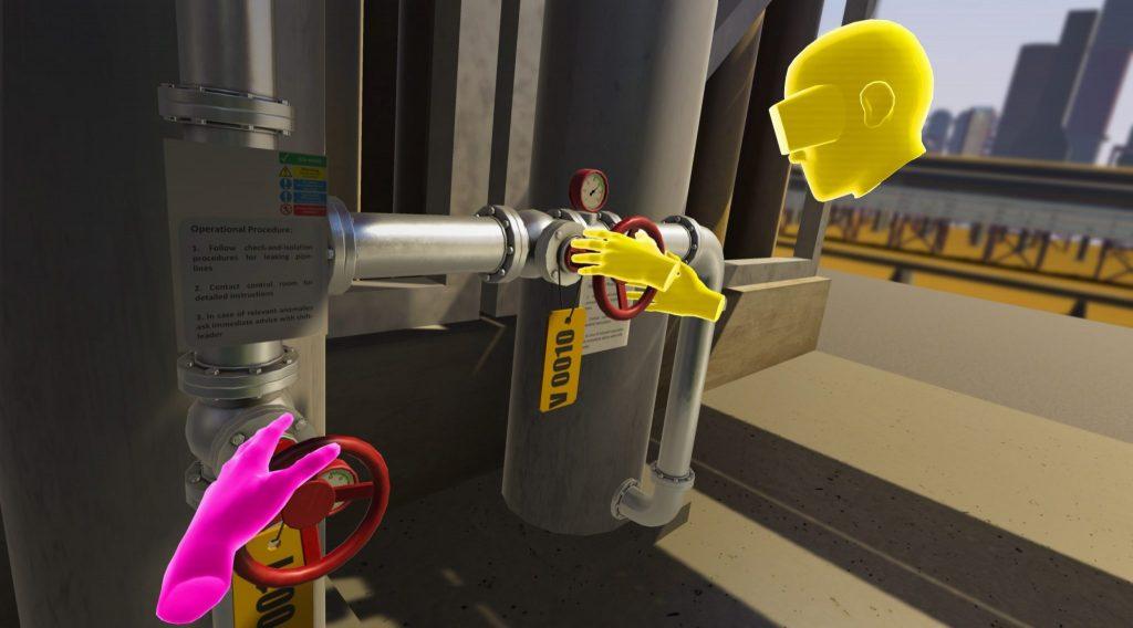 BP VR training