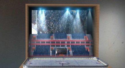 Virtual NHL Arena